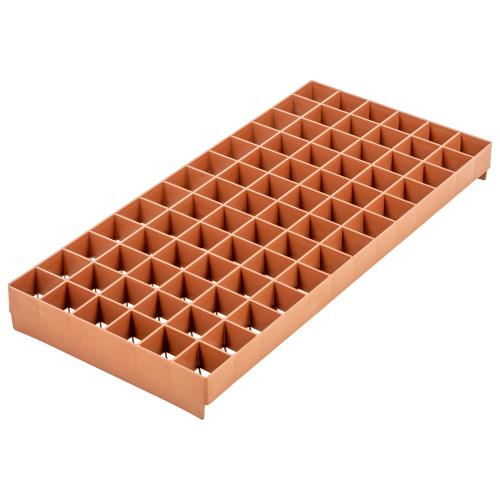 Super Sprouter 78 Cell Stonewool  Tray- 1.5 In Square