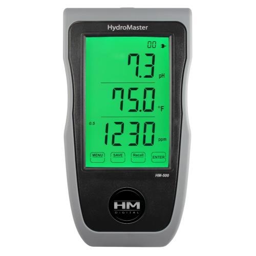 HM Digital™ HydroMaster Continuous pH/EC/TDS/Temp Monitor Model HM-500
