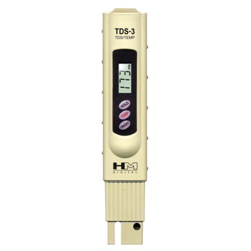 HM Digital™ Handheld TDS Tester Model TDS-3