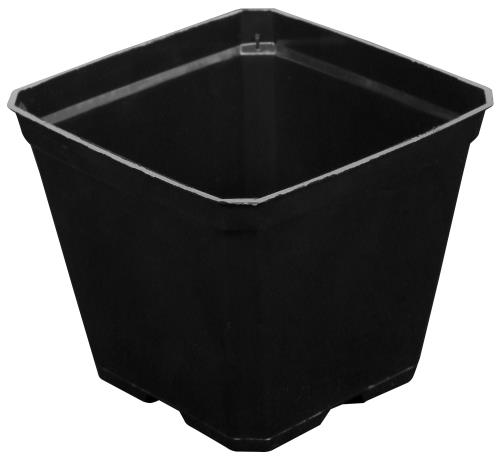 Gro Pro® Black Plastic Pots