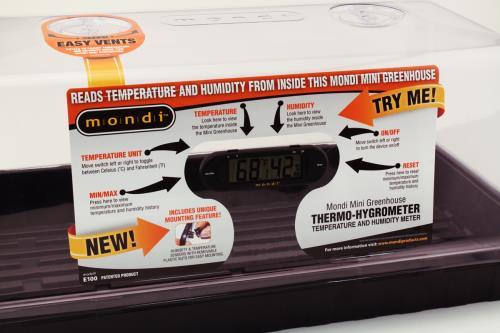 Mondi™ Greenhouse Thermo-Hygrometer