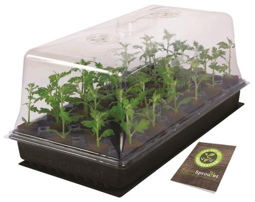 Super Sprouter® Heated Propagation Station® with 7 in Dome