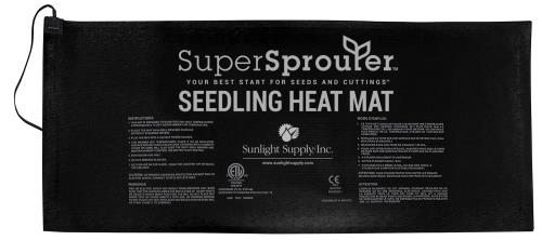 Super Sprouter® Seedling Heat Mat - 4 Tray
