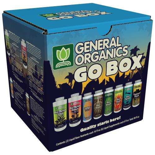 General Hydroponics® General Organics® GO Box