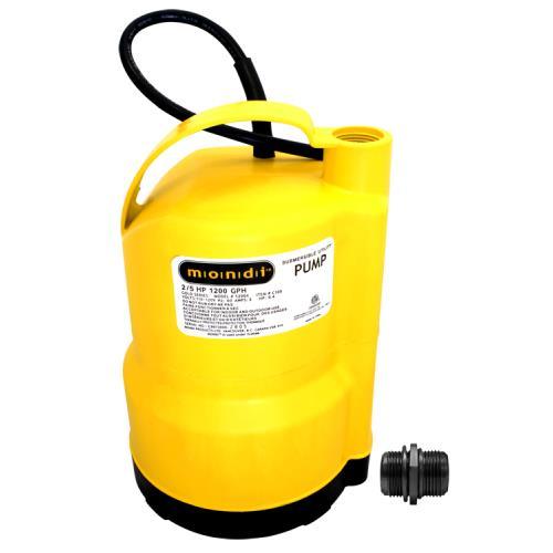 Mondi™ Utility Sump Pump 1200x