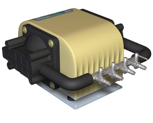 General Hydroponics® Dual Diaphragm Air Pump