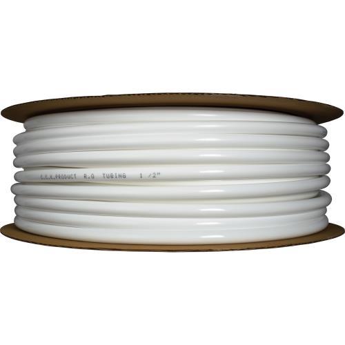 "Hydro-Logic 1/2"" OD tubing roll 165ft white (2/cs)"
