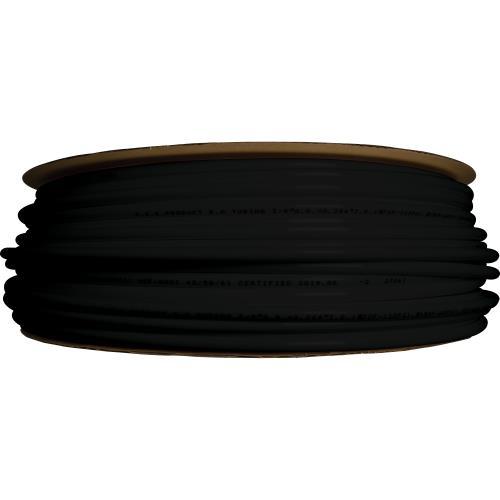 "Hydro-Logic 3/8"" OD tubing roll 500ft black (2/cs)"