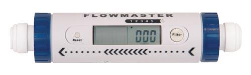 Hydro-Logic® Flowmaster Flow Meter - 3/8 in