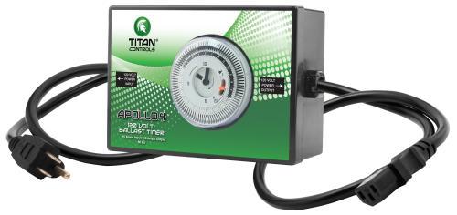 Titan Controls® Apollo® 4 - 120 Volt Ballast Timer