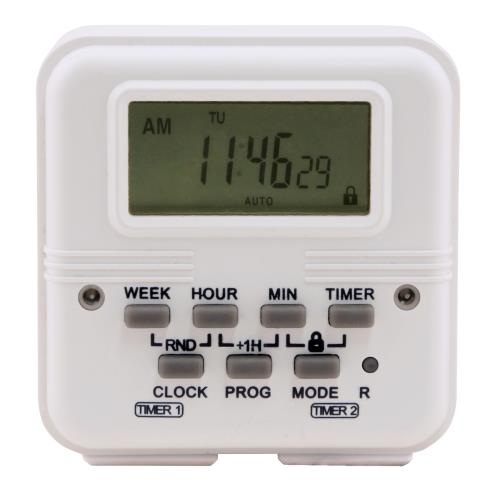 Titan Controls® Apollo® 18 - Two Outlet Dual Schedule Digital Timer