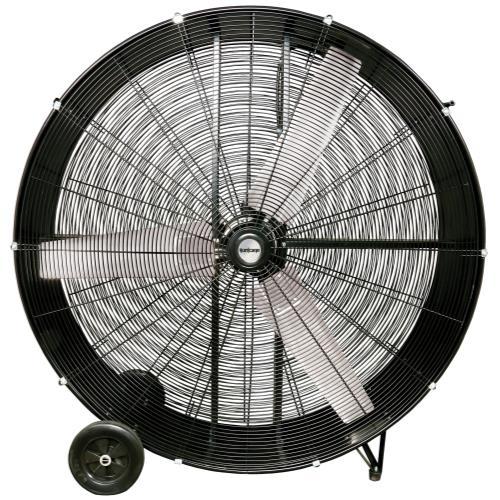 Hurricane® Pro Heavy Duty Drum Fan 48 In
