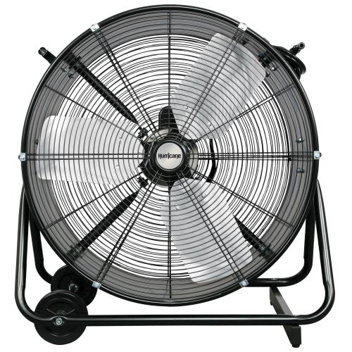 Hurricane® Pro Heavy Duty Adjustable Tilt Drum Fan 24 In