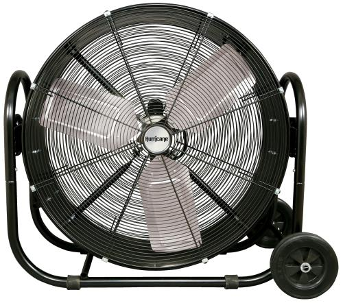 Hurricane® Pro Heavy Duty Adjustable Tilt Drum Fan 30 In