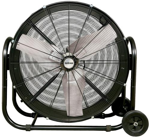 Hurricane® Pro Heavy Duty Adjustable Tilt Drum Fan 36 In
