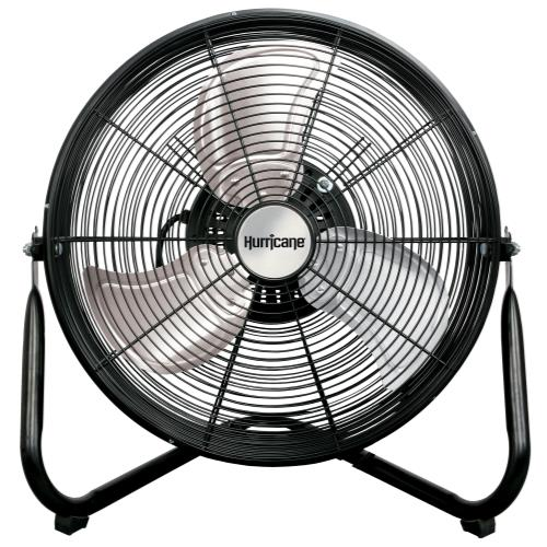 Hurricane® Pro Heavy Duty Orbital Wall / Floor Fan 16 In