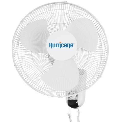 Hurricane® Classic Oscillating Wall Mount Fan 16 in