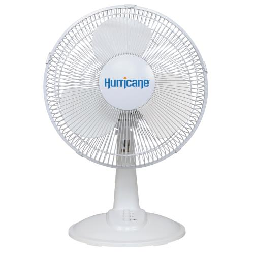 Hurricane® Classic Oscillating Desk Fan 12 In