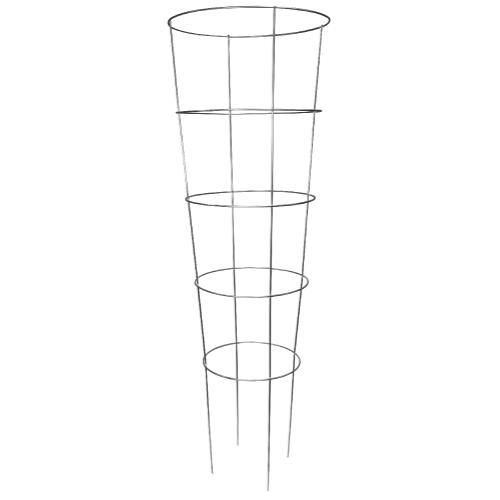 Grower's Edge® High Stakes® Commercial Grade Round Tomato Cage 5 Rings - 72 in