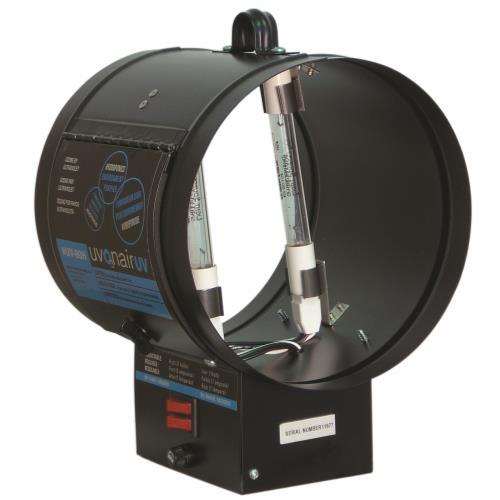Uvonair® UV Inline Duct Ozonator 8 in - 2 Bulb