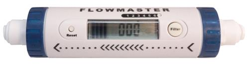Hydro-Logic® Flowmaster Ultra Low Flow Meter - 1/4 in