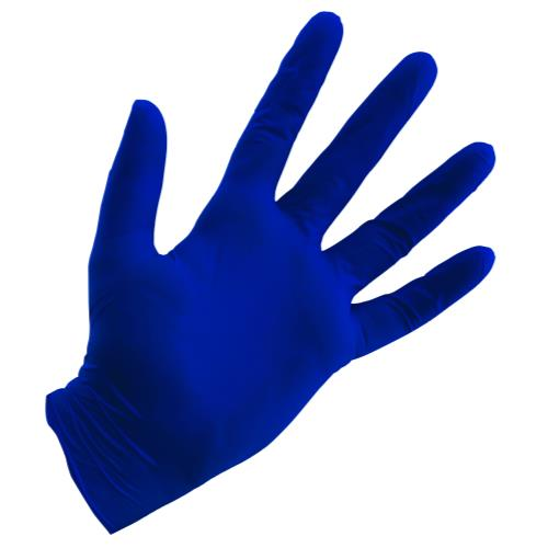 Grower's Edge® Blue Nitrile Gloves
