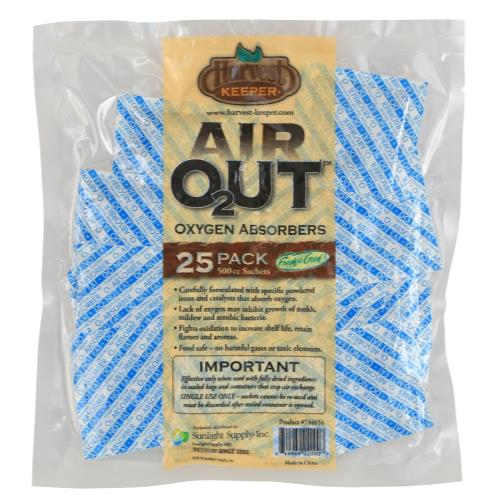 Harvest Keeper® Air Out® Oxygen Absorbers