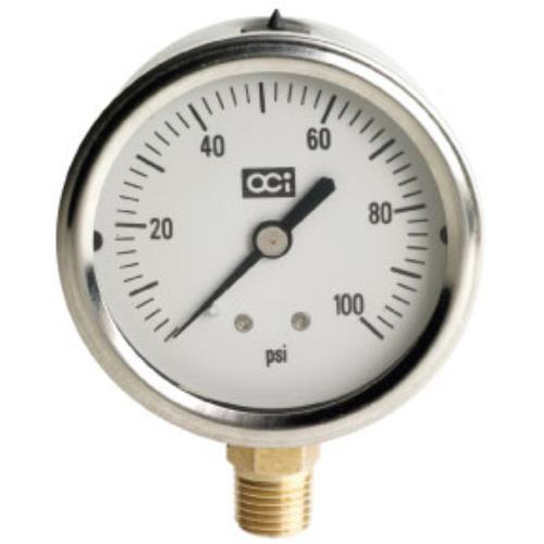 Netafim Liquid Filled Pressure Gauge 0 - 100 PSI