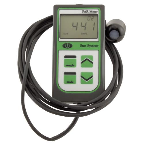 Sun System® PAR Meter with Remote Sensor