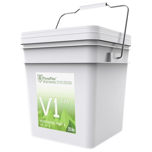 FloraFlex® Nutrients Vegetative V1™ 14 - 0 - 4 & V2™ 6 - 17 - 25