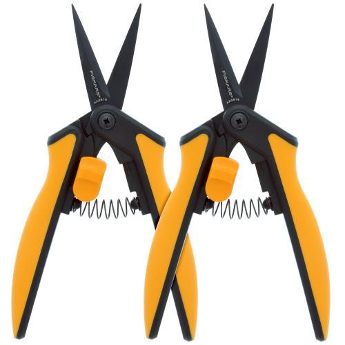 Fiskars® Non-Stick Softgrip® Micro-Tip Pruning Snip