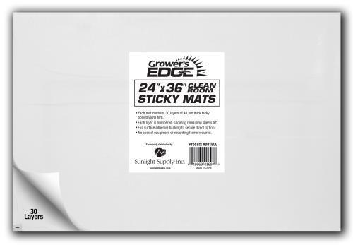 Grower's Edge® Cleanroom Sticky Mat