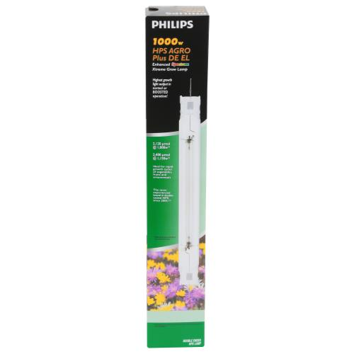 Philips 1000 Watt HPS AGRO Plus DE EL Lamp (Previously GreenPower)