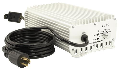Sun System® 1 DE Etelligent™ Compatible 1000 Watt Electronic Ballast - 277 Volt