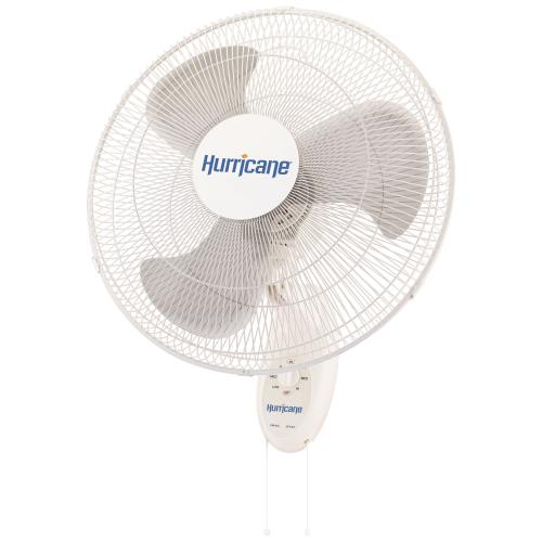 Hurricane® Supreme Oscillating Wall Mount Fan 18 in