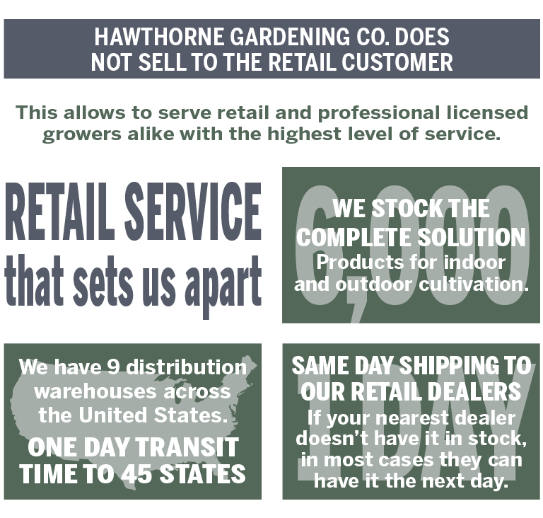Hawthorne Gardening Company - Wholesale Only